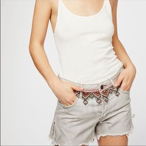 New Free People We The Free Distressed Shorts